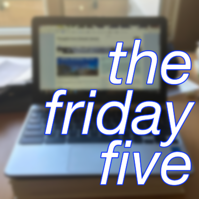 Friday Five: Google Chromebook