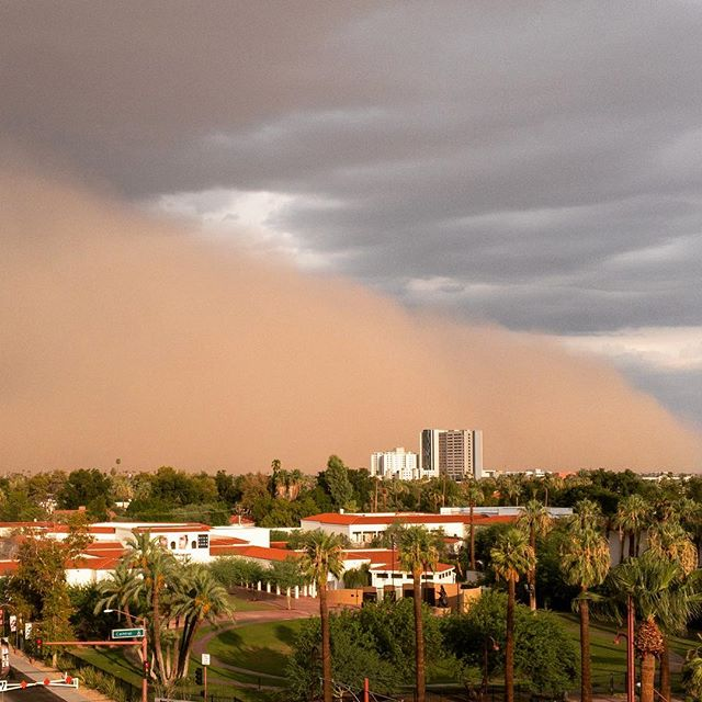 the dust before the storm